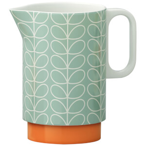Orla Kiely Linear Stem Pitcher Jug - Duck Egg