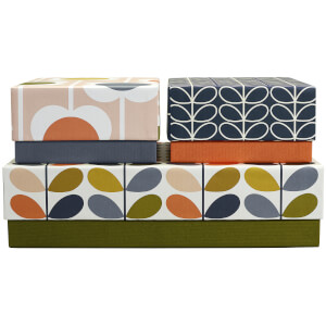 Orla Kiely Storage Box Set - Multi (Set of 3)