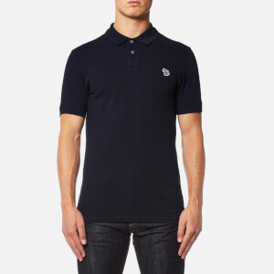 PS by Paul Smith Men's Zebra Logo Polo Shirt - Navy