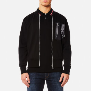 PS by Paul Smith Men's Panelled Zipped Sweatshirt - Black
