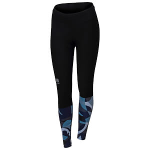 Sportful Women's Primavera Tights - Black/Waterfall