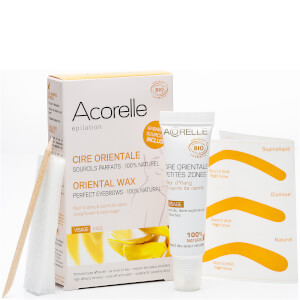 Acorelle Oriental Ylang Ylang Sugar Wax with Face Strips 15ml