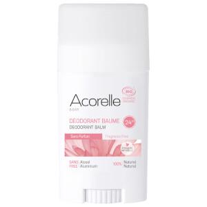 Acorelle Organic Fragrance Free Deodorant Balm bezzapachowy dezodorant sztyfcie z balsamem 40 g