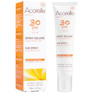 Acorelle Organic SPF30 Sun Spray 100ml: Image 1