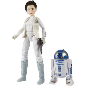 Figurine Princesse Leia et R2-D2 Star Wars : Forces du destin - Hasbro