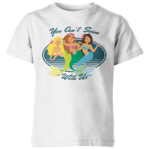You Can't Swim With Us Kid's White T-Shirt
