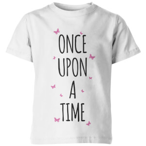 Once Upon A Time Kid's White T-Shirt