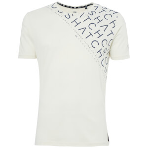 Crosshatch Men's Leeroy T-Shirt - Vaporous Grey