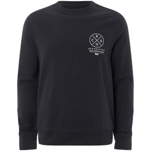 Crosshatch Men's Byram Sweatshirt - Night Sky