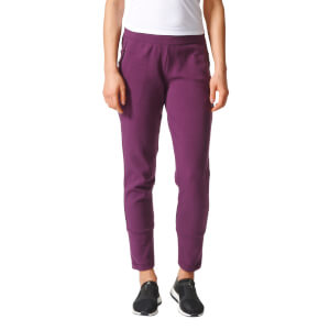 adidas Women's ZNE Slim Fit Training Pants - Purple