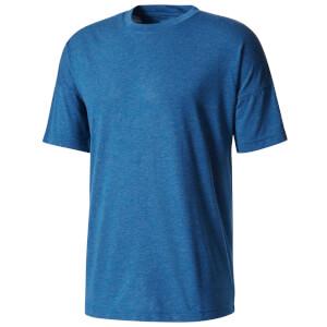 adidas Men's ZNE Training Track T-Shirt - Blue
