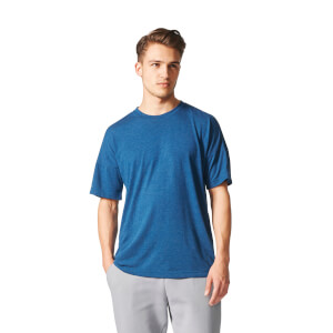 adidas Men's ZNE Training Track T-Shirt - Blue