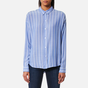 Rails Women's Josephine Stripe Shirt - Bluebonnet/White Stripe