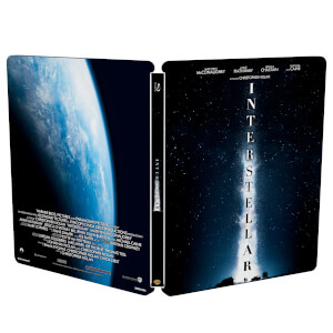 Interstellar - Zavvi UK Exklusives Limited Edition Steelbook (Nur 1000 Auflagen)