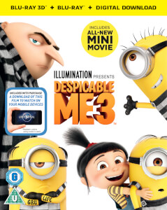 Despicable Me 3 3D (Includes 2D Version & Digital Download)