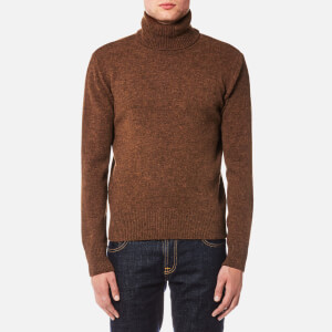 AMI Men's Turtleneck Jumper - Tobacco