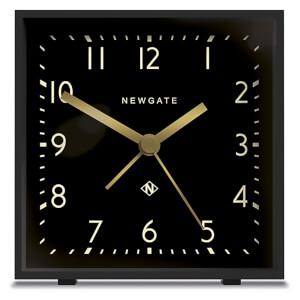 Newgate Cubic Alarm Clock - Gravity Grey
