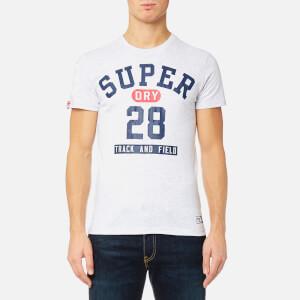 Superdry Men's Trackster Short Sleeve T-Shirt - Ice Marl