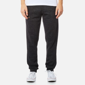 Superdry Men's Orange Label Moody Slim Joggers - Low Light Black Grit