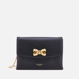 Ted Baker Women's Leiza Looped Bow Cross Body Bag - Black