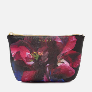 Ted Baker Women's Leaa Impressionist Bloom Makeup Bag - Black