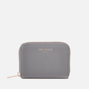 Ted Baker Women's Illda Zip Around Mini Purse - Mid Grey