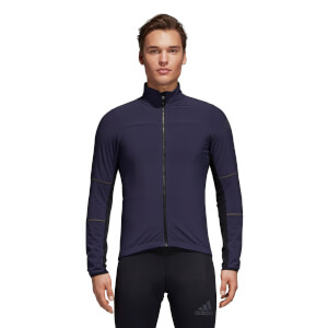 adidas Men's Climaheat Long Sleeve Winter Jacket - Navy