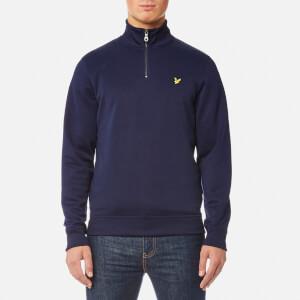Lyle & Scott Men's Tricot 1/4 Zip Sweatshirt - Navy