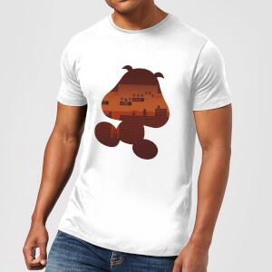 Nintendo® Super Mario Goomba Silhouette T-Shirt - Grau