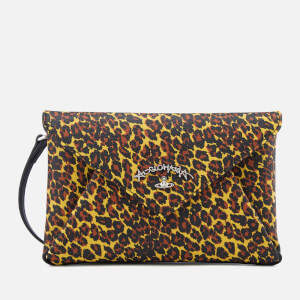 Vivienne Westwood Anglomania Women's Leopard Envelope Bag - Yellow