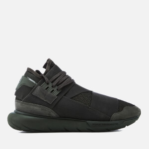 Y-3 Qasa High Sneakers - Y-3 Black Olive