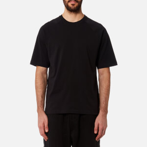 Y-3 Men's Short Sleeve Crew Neck Back T-Shirt - Black