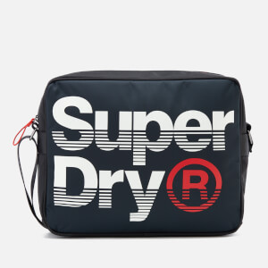 Superdry Men's Premium Lineman Messenger Bag - Navy/Optic