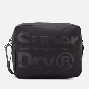 Superdry Men's Premium Lineman Messenger Bag - Black/Black