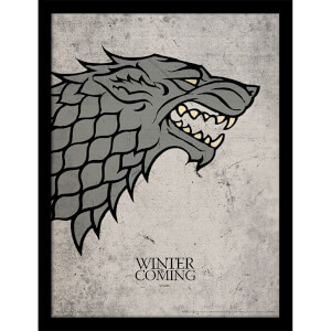 Game of Thrones Stark Framed 30 x 40cm Print