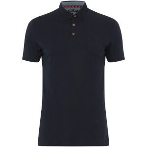 Brave Soul Men's Julius Polo Shirt - Navy