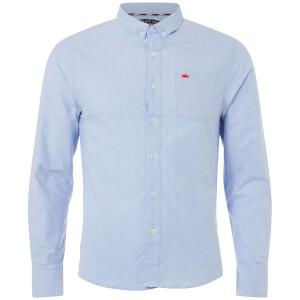 Brave Soul Men's Pompeii Shirt - Light Blue