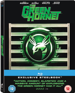 The Green Hornet - Zavvi Exclusive Limited Edition Steelbook (Includes DVD Version) (Limited to 1000 Copies)