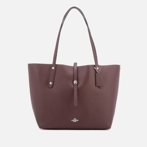 Coach Women's Market Tote Bag - Oxblood