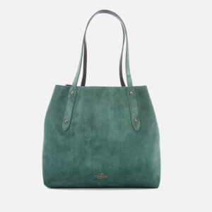 Coach Women's Large Market Tote Bag - Dark Turquoise