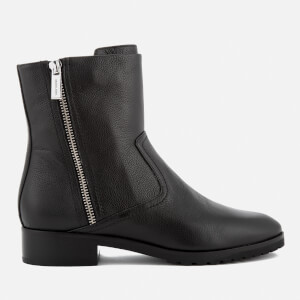 MICHAEL MICHAEL KORS Women's Andi Leather Biker Boots - Black