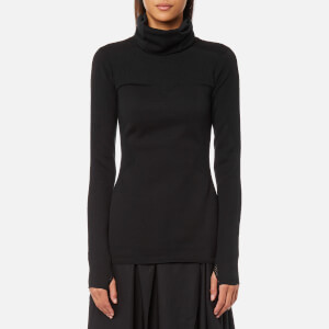 Y-3 Women's Turtleneck Knitted Jumper - Black