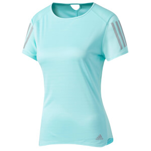 adidas Women's Response Running T-Shirt - Blue