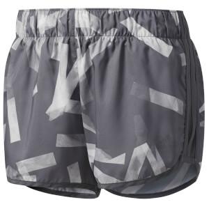 adidas Climalite Running Shorts - Grey/White