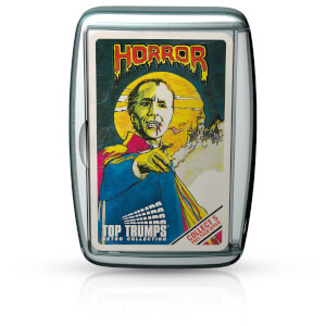 Top Trumps Card Game - Horror 1 Retro Edition