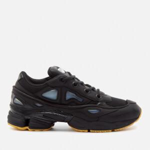 adidas by Raf Simons Men's Ozweego III Sneakers - Black/Black/Corn Yellow