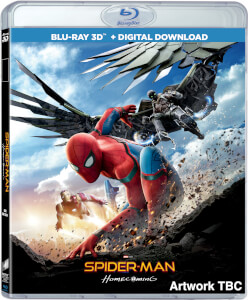 Spider-Man Homecoming 3D (Includes 2D Version) + Comic Book