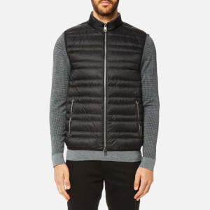 Michael Kors Men's Channel Quilted Vest - Black