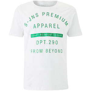 T-Shirt Homme Quinx Smith & Jones - Blanc