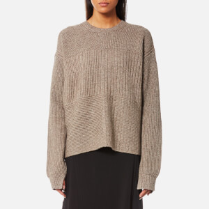 Helmut Lang Women's Textured Jumper - Oat